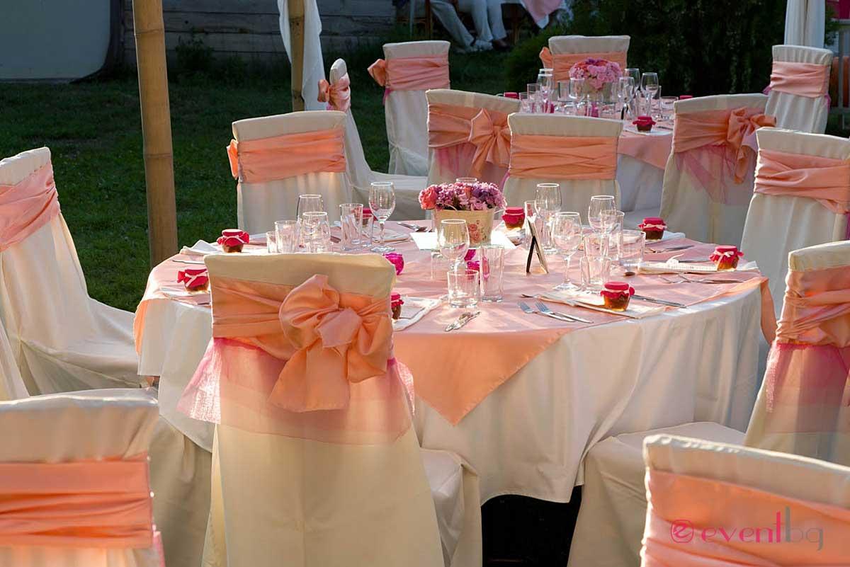 Сватбена украса и декорация. Eventbg Agency