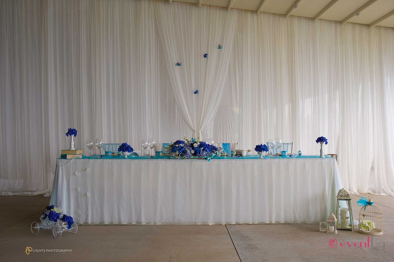Булчинска маса - украса и декор