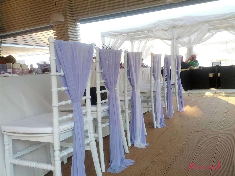 Сватбена украса - столове Шивари