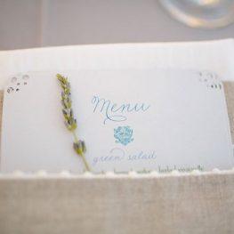 Лавандула за украса сватба