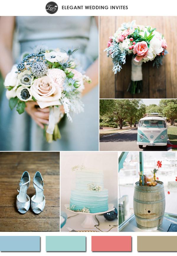 сватбени тенденции цветове
