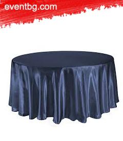 Тъмно синя покривка под наем