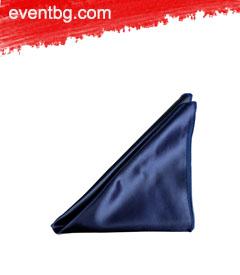 Подложна платнена салфетка - тъмно синя