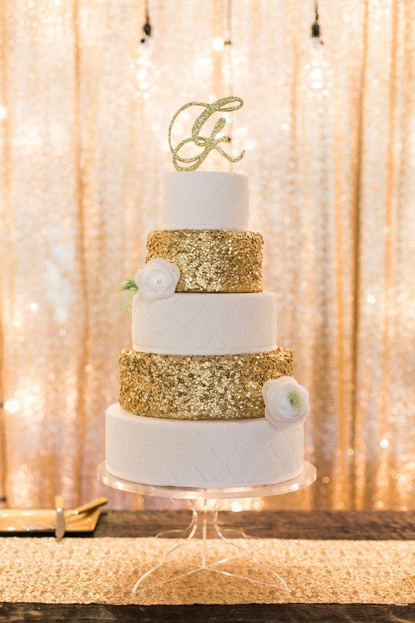 Сватбена торта - glitter