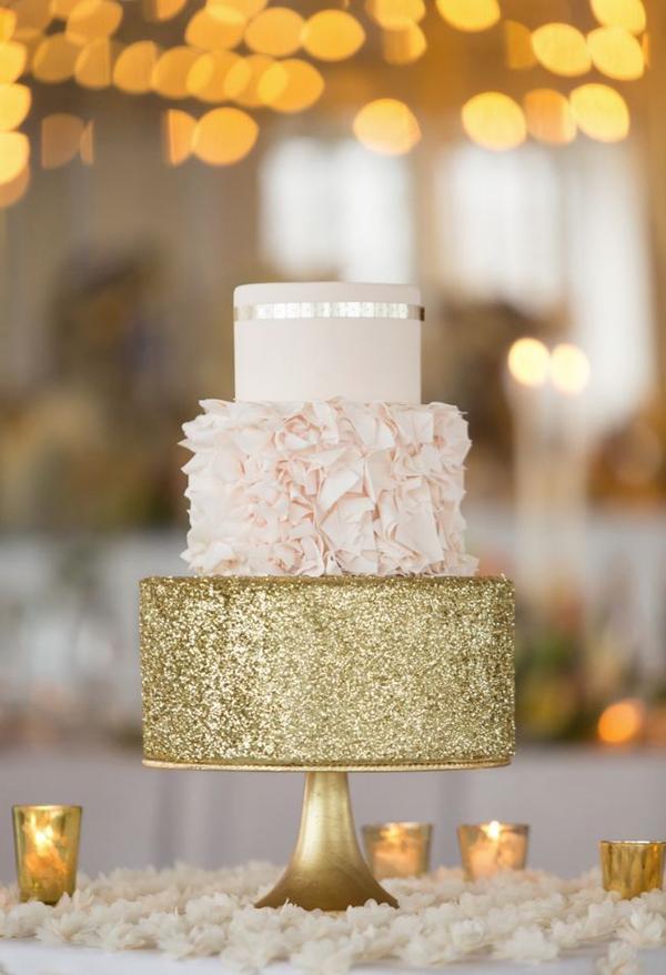 Сватбена торта- glitter