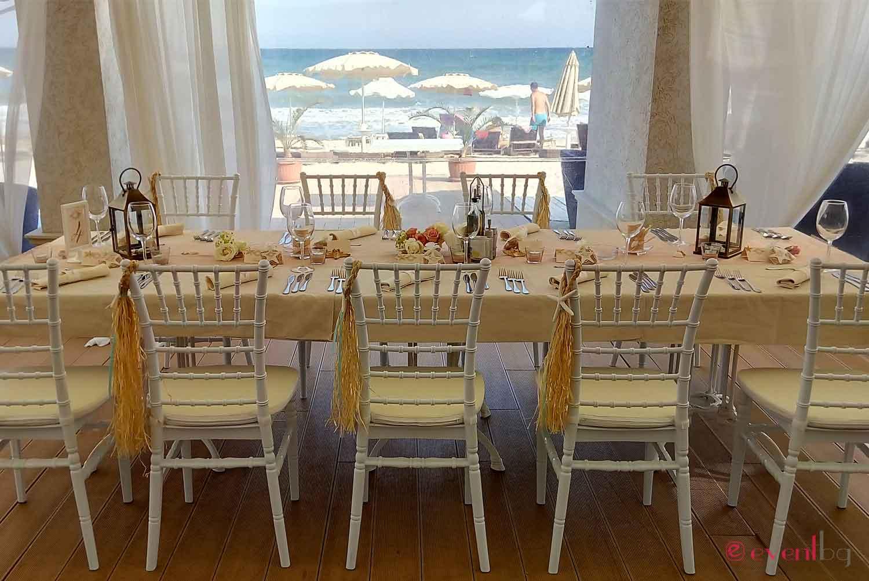 сватбена на морето - eventbg agency