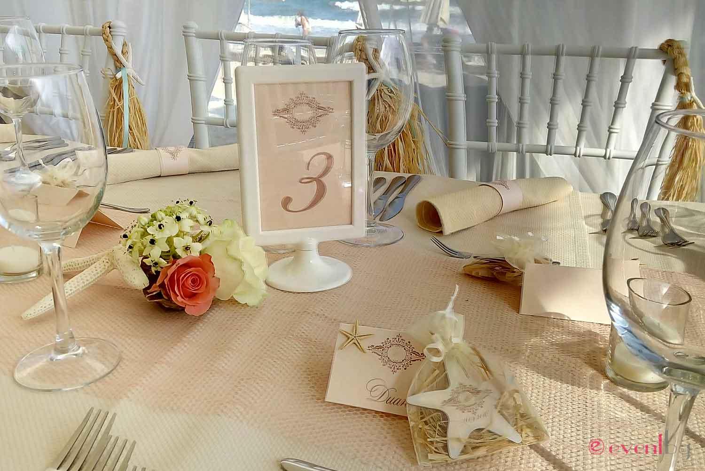 сватбена украса - морски мотиви