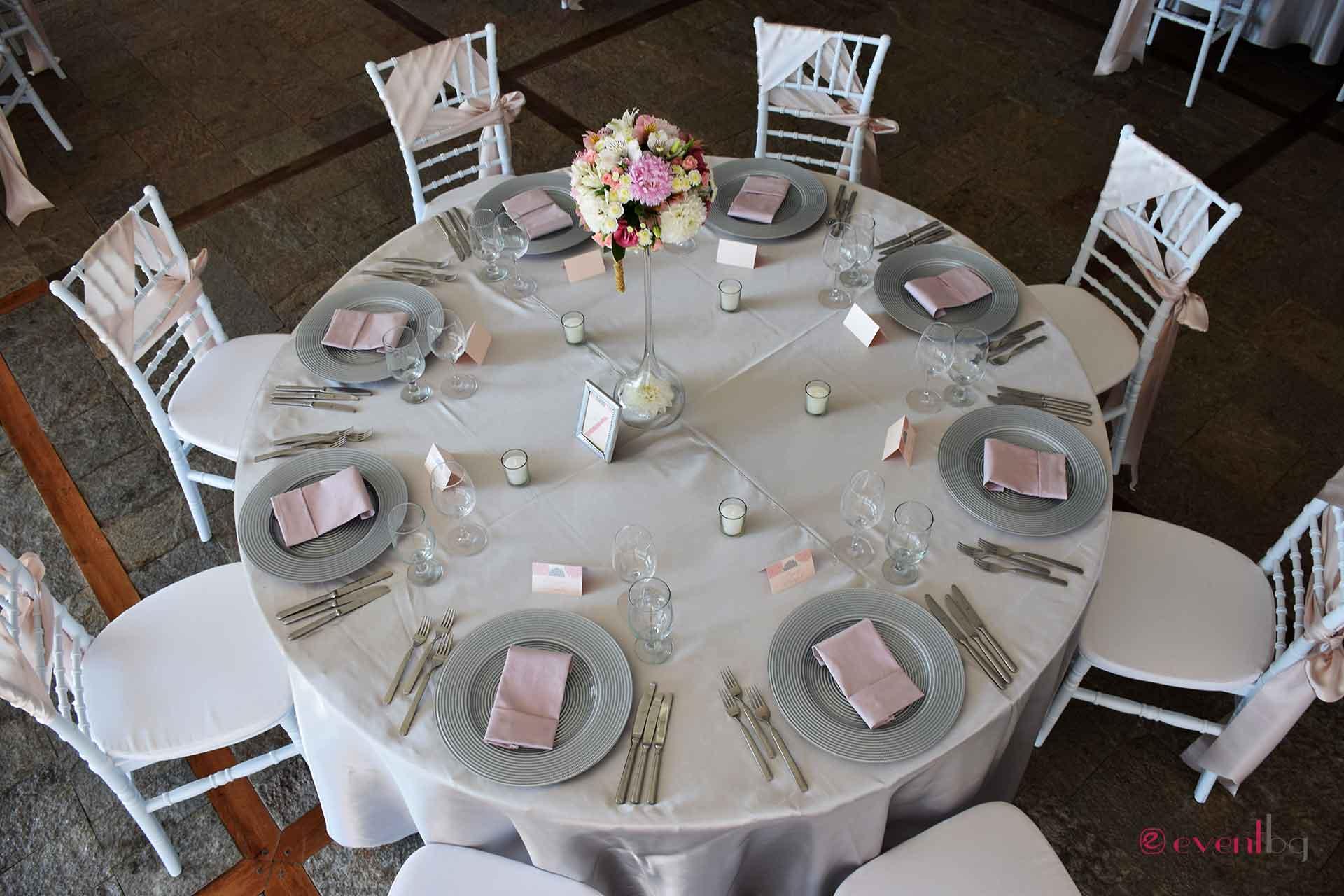 Сватбена украса - Eventbg Agency