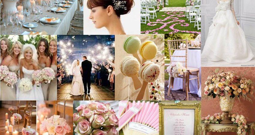 Десет стила сватбени украси