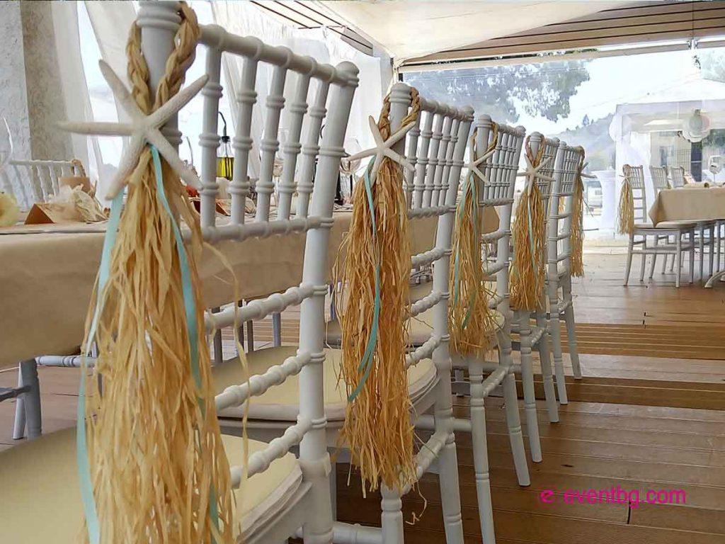 Ресторант на плажа за сватба