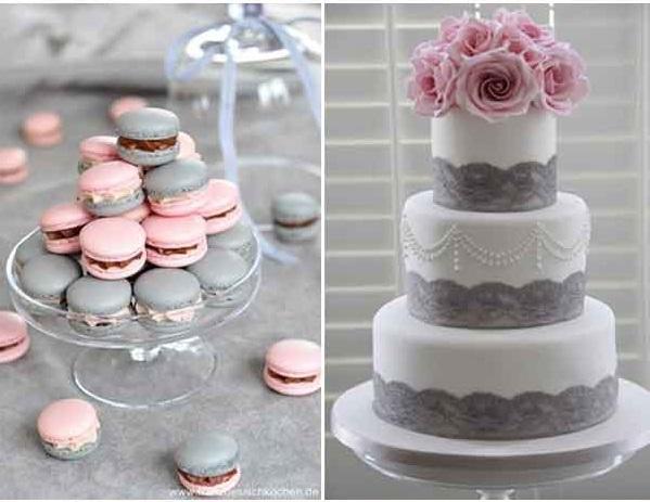 Комбинации с цвят розово за сватби през 2017г