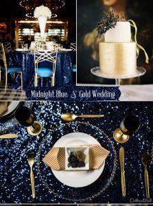Нюанси на синьото за Сватба през 2017г.