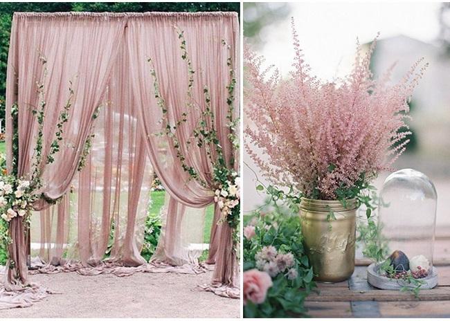 Модерните цветове за сватба през 2019
